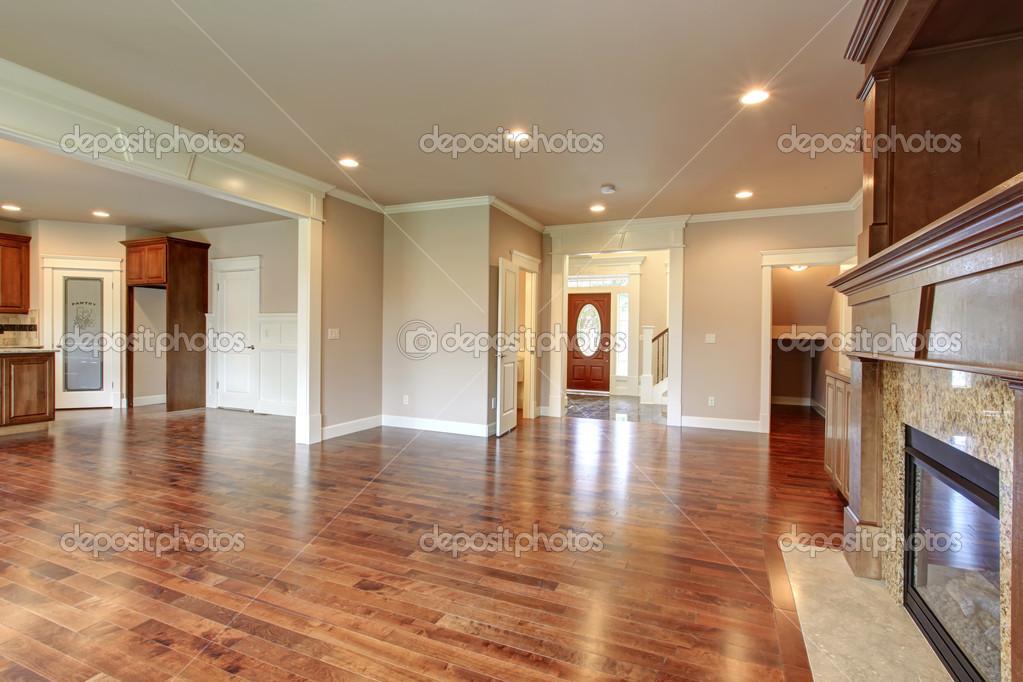 Progettazione Open Space. sala soggiorno e cucina — Foto ...