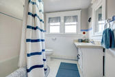 Refreshing white bathroom — Stock Photo