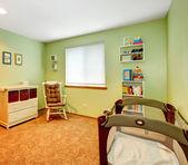 Cozy nursery room — Stock Photo