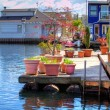 View of the boat house dock — Stock Photo #41056125