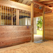 Horse stable barn stall — Stock Photo #41868149