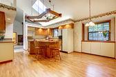 Farm house kitchen room — Stock Photo