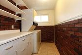 Laundry room design — Stockfoto