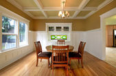 Dining room in an old house — Stock Photo
