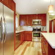 Modern kitchen room interior — Stock Photo #42357513