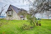 Impressive stone house — Foto Stock