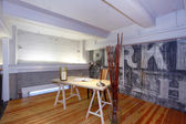 Reconstructed mezzanine office. — Stock Photo