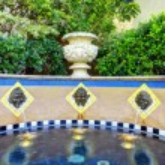 Fountain in Balboa park, San Diego — Stock Photo #42491521