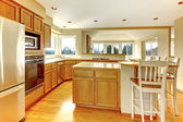 Kitchen room interior — Stock Photo