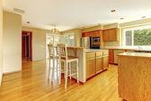 Kitchen room interior — Stok fotoğraf