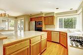 Interior de la sala de la cocina — Foto de Stock