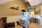 Small bedroom interior idea — Foto Stock