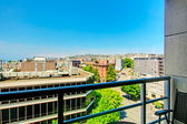 Seattle apartment balcony. — Stock Photo