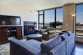 Interior moderno apartamento. — Foto de Stock