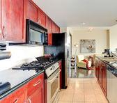 Modern apartment interior.  — Foto de Stock