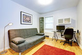Office room with a couch — Stock Photo