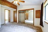 White empty bedroom  — Stockfoto