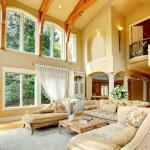 Luxury house interior. Living room — Stock Photo #44718711