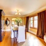 ������, ������: Elegant dining room with antique furniture