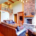 Luxury living room interior — Stock Photo