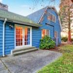 House exterior. Backyard view — Stock Photo #45799657