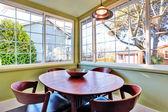 Small dining room corner — Foto de Stock