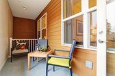 Screened porch — Foto de Stock