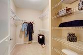 Walk-in closet — Stock Photo