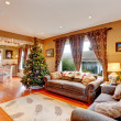 Living room on Christmas eve — Stock Photo #46059021