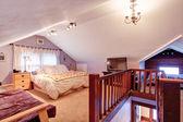Velux bedroom interior — Stock Photo