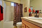 Badezimmer interieur. — Stockfoto