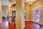 House interior. Open floor plan — Stock Photo