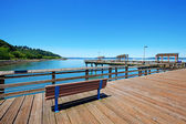 Tacoma, pier weergave. wa — Stockfoto