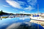 Bay view in Tacoma, Washington — Stock Photo