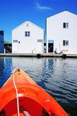 Casa bote en tacoma, — Foto de Stock