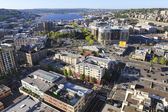 Seattle downtown, panoramic view — Stock Photo