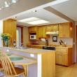 House interior. Kitchen room — Stock Photo #46902845