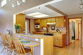 Wnętrze domu. kuchnia pokój — Zdjęcie stockowe