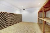 空のワイン貯蔵室 — ストック写真