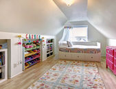 Kids room in old house — Stock Photo