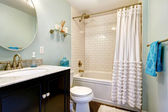 Bathroom in old house — Stock Photo