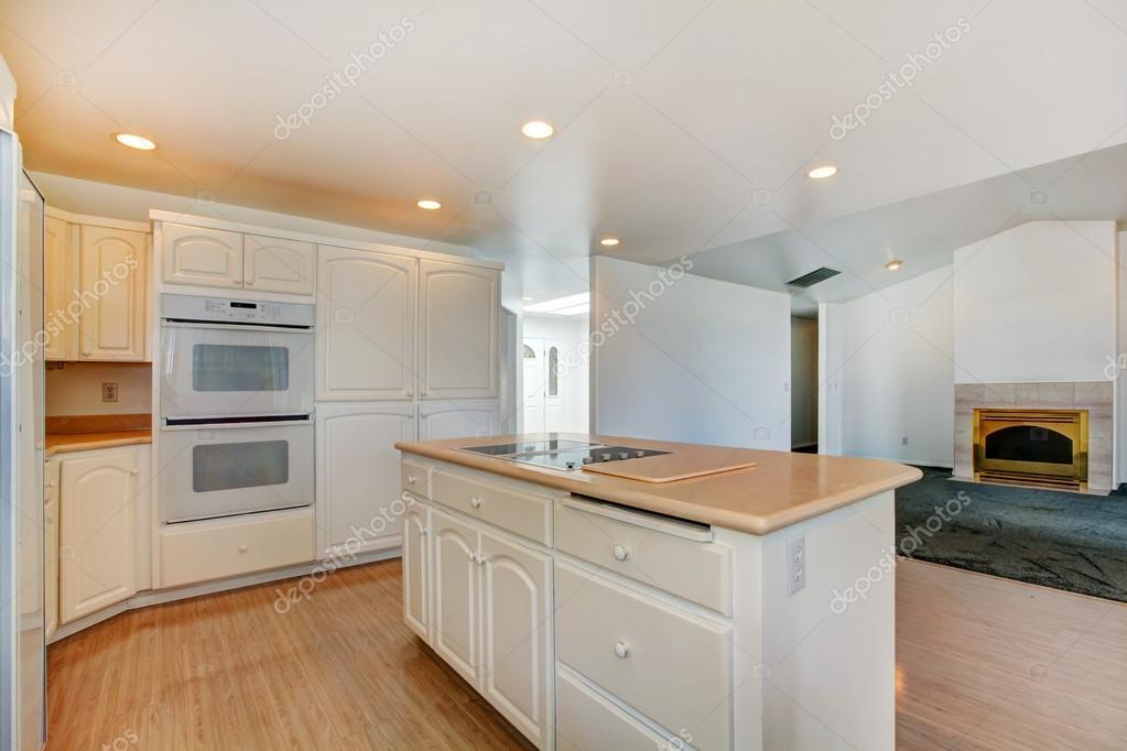Huis interieur. witte keuken kamer — stockfoto © iriana88w #47757911
