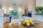 Kitchen room with window — Stock Photo