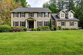 Large classic house exterior — Stock Photo