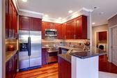 Mutfak oda iç modern daire — Stok fotoğraf