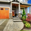 House exterior with curb appeal — Stock Photo #49166371