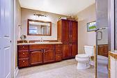 Interior de casa de banho moderna — Fotografia Stock