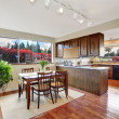 Cozy dining area in kitchen room — Stock Photo #49902881