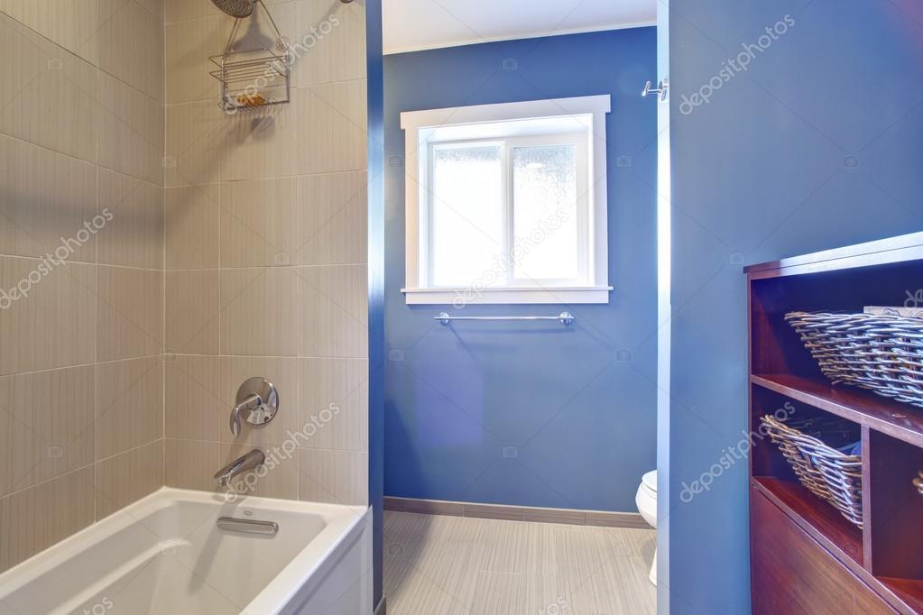 라이트 블루 욕실 인테리어 — 스톡 사진 #49902457