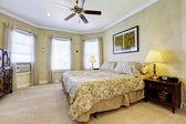 Light tones bedroom interior — Stock Photo